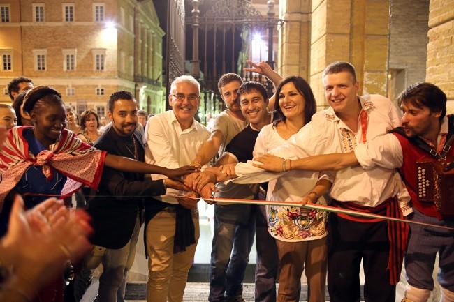 Carancini_Cicarè_Monteverde_inaugurazione sottopasso cancelli_Foto LB
