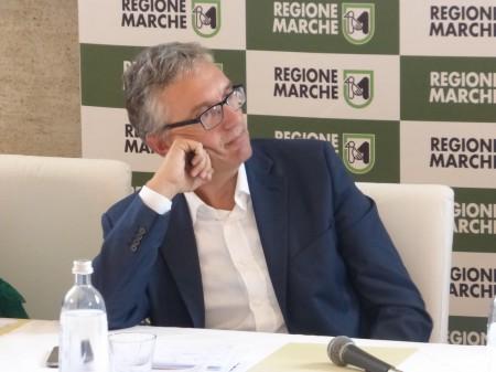 Il presidente della Regione, Luca Ceriscioli