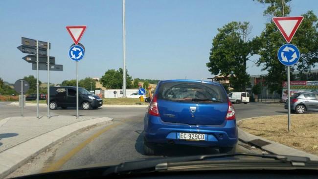 La Dacia Sandero di Fabio Giaquinto