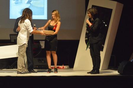 Elvis Corrales Rodriguez riceve il Premio Luigi Mari per la caricatura