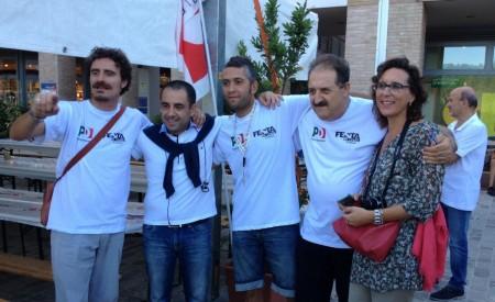 Francesco Comi alla Festa de l'Unità a Urbino