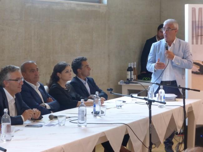 Romano Carancini primo incontro regione comuni giunta itinerante 20154