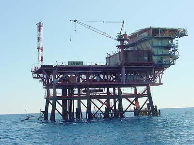 Una piattaforma metanifera