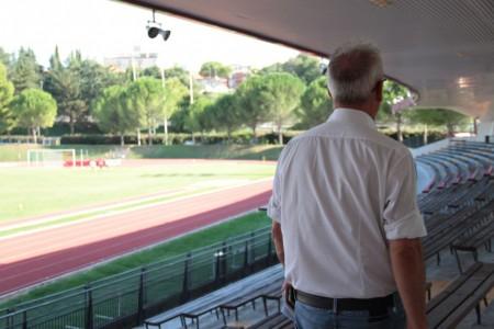 conferenza e visita stadio helvia recina lavori finiti foto ap 23