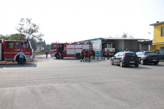 esplosione con morto metano a corridonia foto ap 1