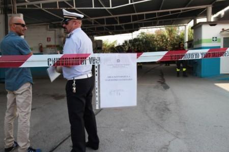 esplosione con morto metano a corridonia foto ap 19