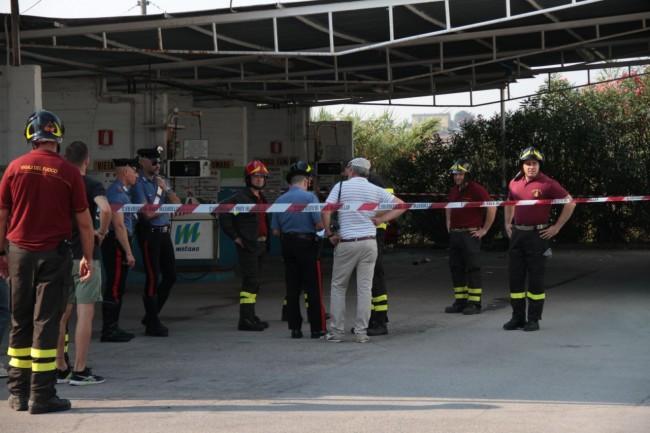 esplosione con morto metano a corridonia foto ap 6
