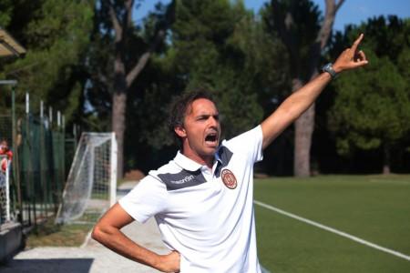 Roberto Lattanzi, allenatore dell'Helvia Recina