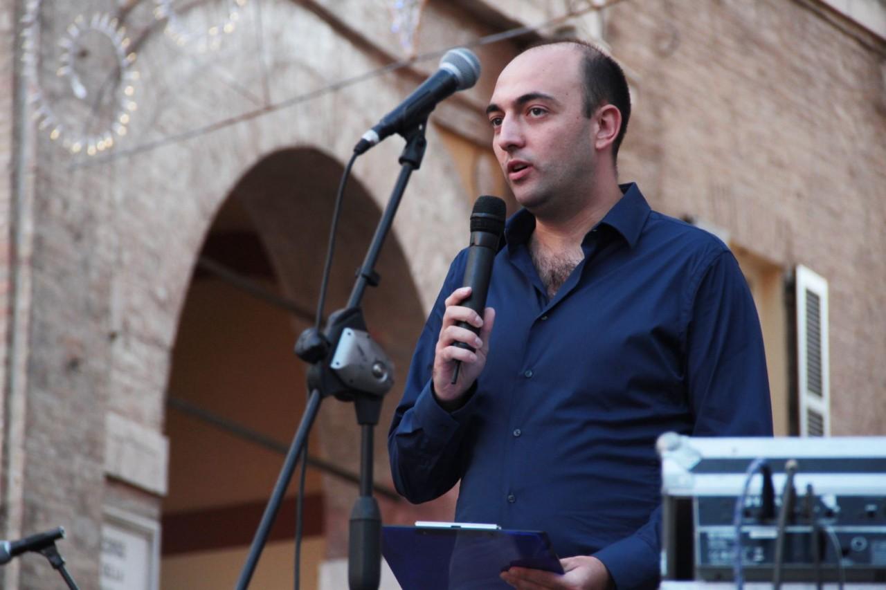 presentazione squadra maceratese piazza libertà foto ap 25