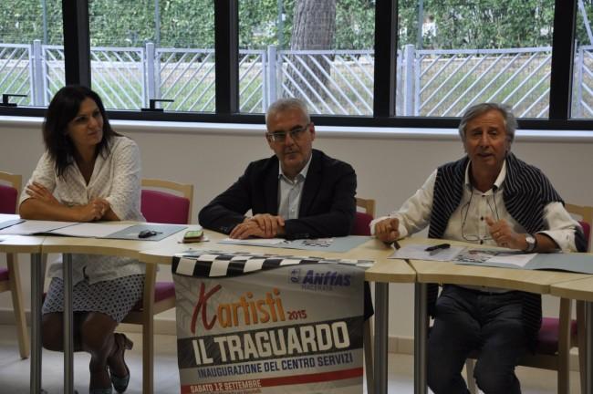 Stefania Monteverde, Romano Carancini, Mario Sperandini