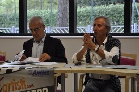Romano Carancini e Mario Sperandini