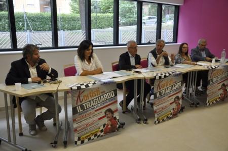 Marco Scarponi, Stefania Monteverde, Romano Carancini, Mario Sperandini, Marika Marcolini e Alferio Canesin