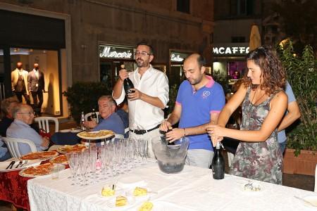 Matteo Zallocco, Andrea Busiello e Alessandra Pierini