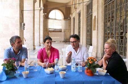 David Miliozzi, Beatrice Brignone, Massimiliano Bianchini e Cristiana Cecchetti