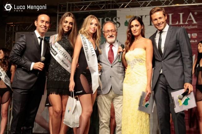 Ilenia Bravetti premiata alla finale regionale di Miss Marche a Camerino