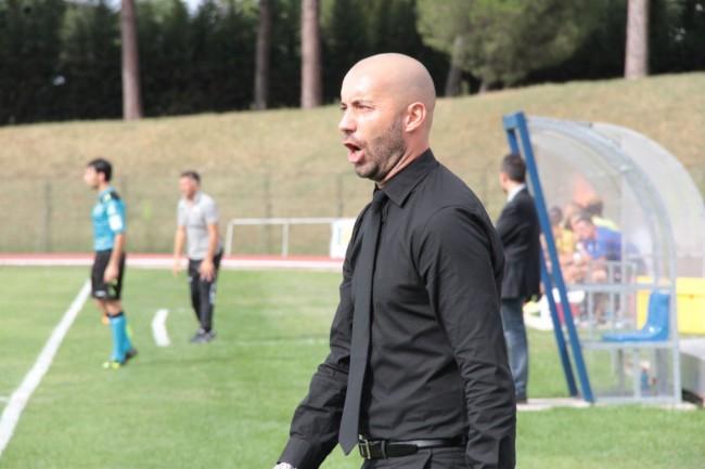 L'allenatore della Maceratese Cristian Bucchi sarà in campo nel triangolare di beneficenza
