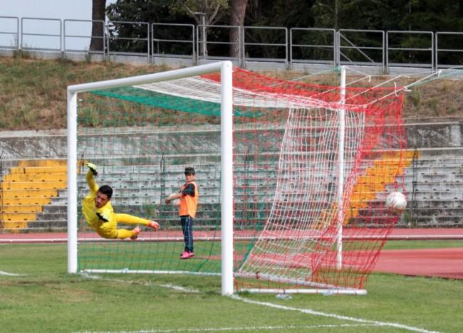 Maceratese vs Lucchese stadio Helvia Recina prima di campionato gol foto ap 14