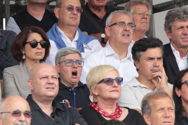 Maceratese vs Lucchese stadio Helvia Recina prima di campionato tardella carancini foto ap 22