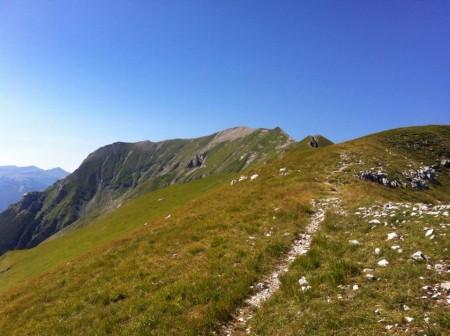 Un sentiero dei Sibillini