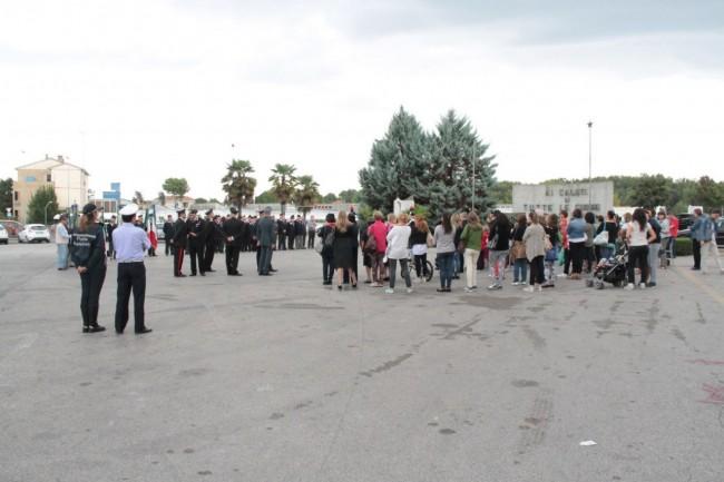 cerimonia carabinieri a piediripa salvo d'acquisto 2015 foto ap 1