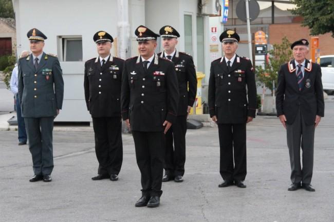 cerimonia carabinieri a piediripa salvo d'acquisto 2015 foto ap 10