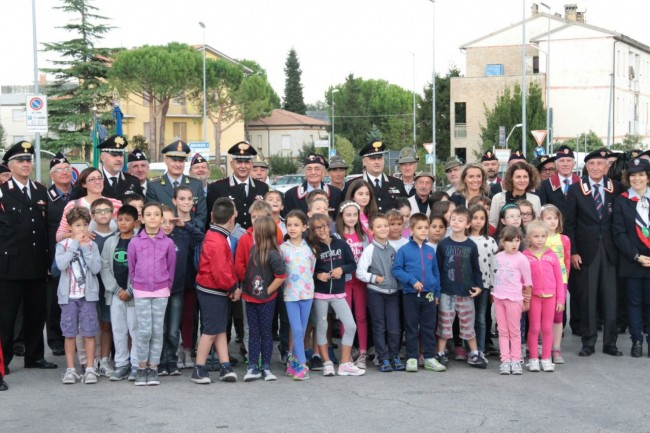 cerimonia carabinieri a piediripa salvo d'acquisto 2015 foto ap 14