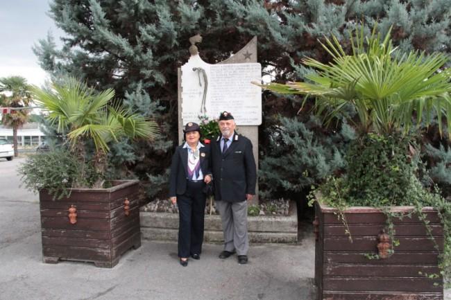 cerimonia carabinieri a piediripa salvo d'acquisto 2015 foto ap 17