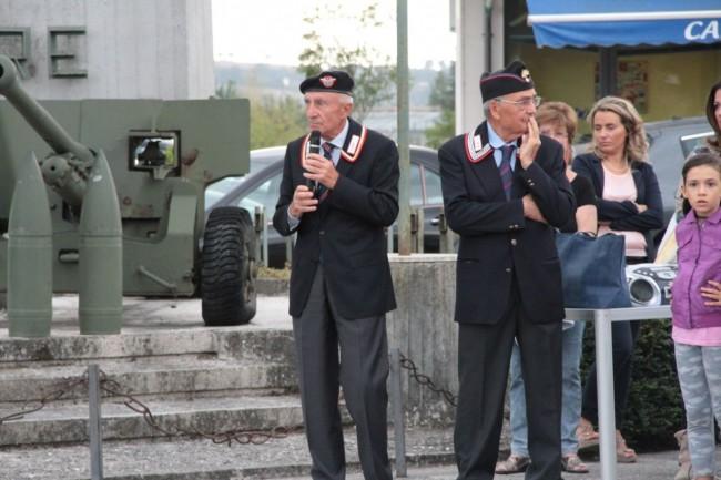 cerimonia carabinieri a piediripa salvo d'acquisto 2015 foto ap 3