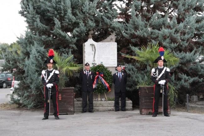 cerimonia carabinieri a piediripa salvo d'acquisto 2015 foto ap 4