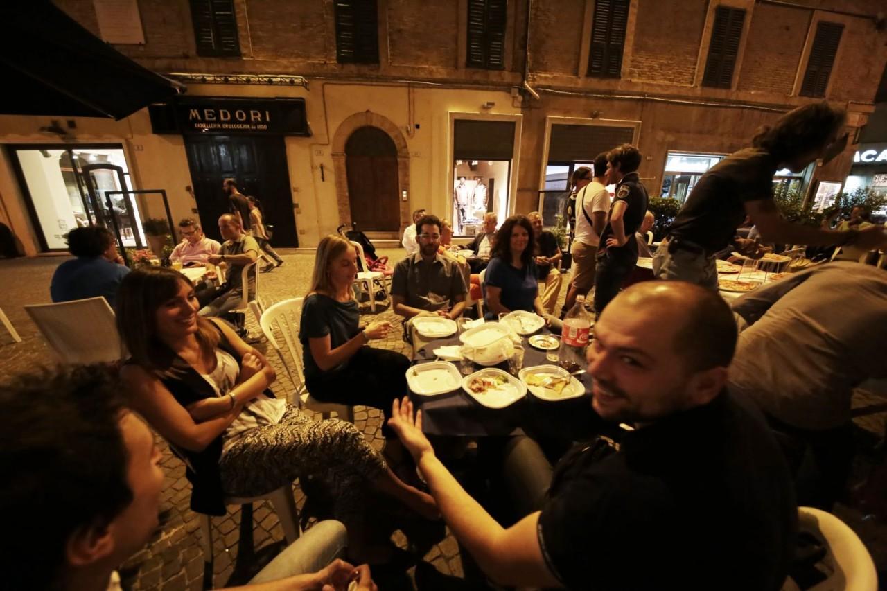 festa cena compleanno cronache maceratesi cm 7 anni di gusto italiano macerata foto ap 6
