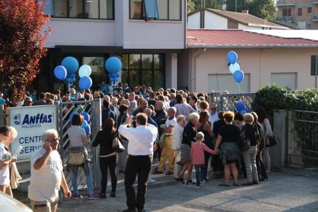 inaugurazione nuova sede anffas a macerata foto ap 1
