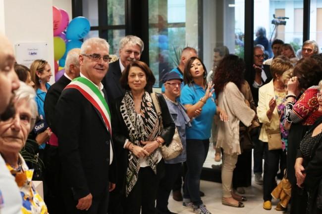 inaugurazione nuova sede anffas a macerata foto ap 31
