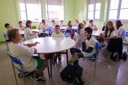 Il primo giorno di scuola all'isitituto San Giuseppe