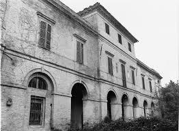 Una foto storica del complesso architettonico