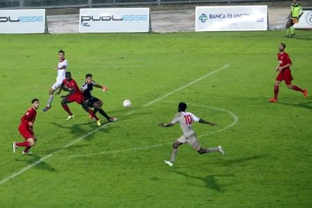 Il gol di Kouko contro l'Ancona