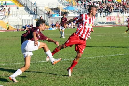 L'esterno difensorivo Francesco Karkalis