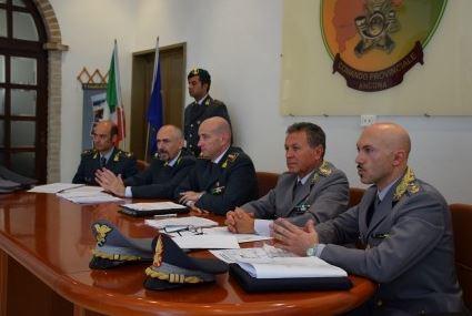 La conferenza stampa relativa alla chiusura delle indagini