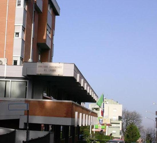 La sede della Direzione territoriale del lavoro