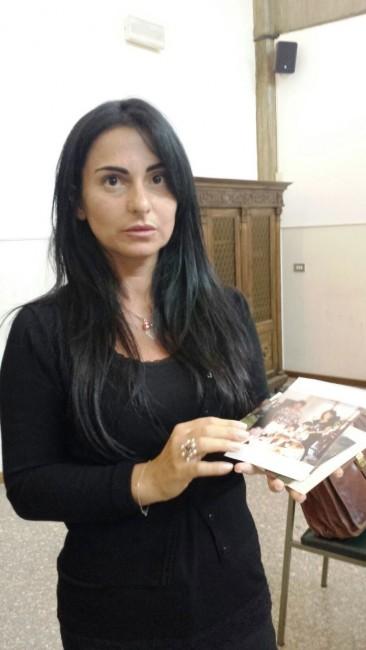Jennifer Sarchiè mostra alcune foto di famiglia