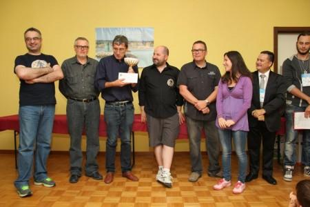 La premiazione del Memorial Gino Serafini