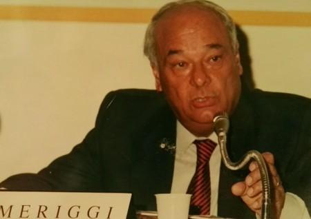 Giovanni Meriggi in una foto recente