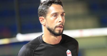 Antonio Corvetta con la maglia della Lube