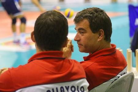 Coach Gianluca Graziosi del Volley Potentino