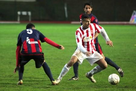 Giordano Fioretti, autore del gol contro L'Aquila