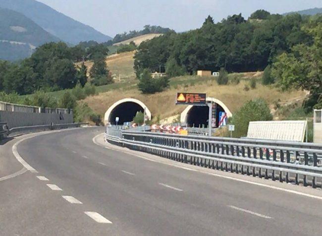 Quadrilatero, il tratto di Serravalle