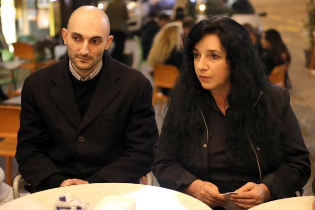 Stefania Raimondi con il compagno