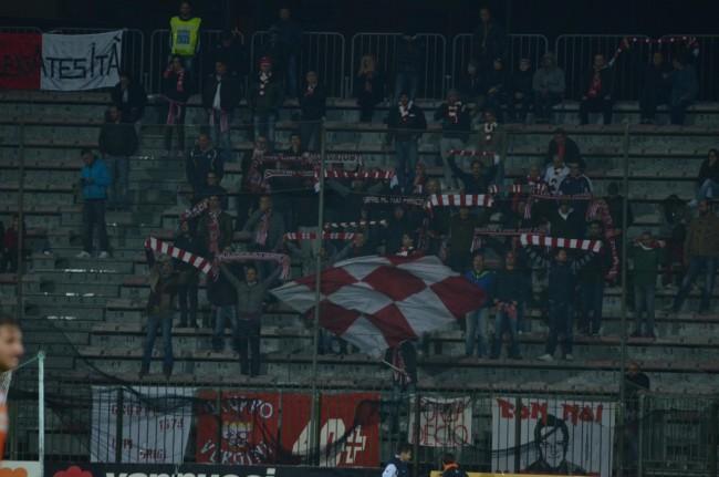 I tifosi della Maceratese a Pistoia