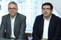 Luca Ceriscioli e Francesco Fiordomo
