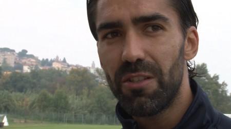 Il capitano della Maceratese Vasco Faisca