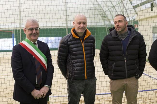 inaugurazione campo beach volley stadio helvia recina foto ap (10)